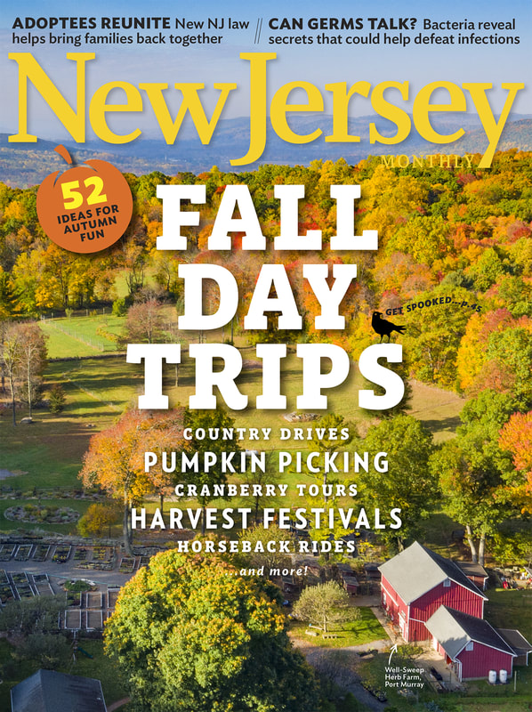 Aerial Drone Photo of New Jersey Farm for the Cover of New Monthly Magazine